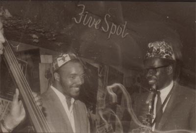 Daoud A. Haroon & Makanda Ken McIntyre Quartet at the Five Spot, NYC, 1967, photo by Raymond Ross