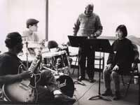 Makanda Ken McIntyre teaching at the New School, NYC, circa 1995