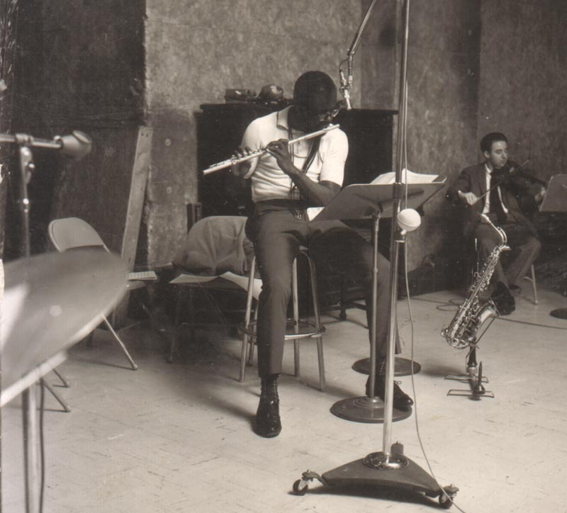 "Makanda Ken McIntyre, ""Way, Way Out"" recording session for United Artists, NYC, 1963"