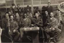 Makanda Ken McIntyre in the 50th Signal Army band, circa 1953-4, photo by Cpl Gerald Loomis