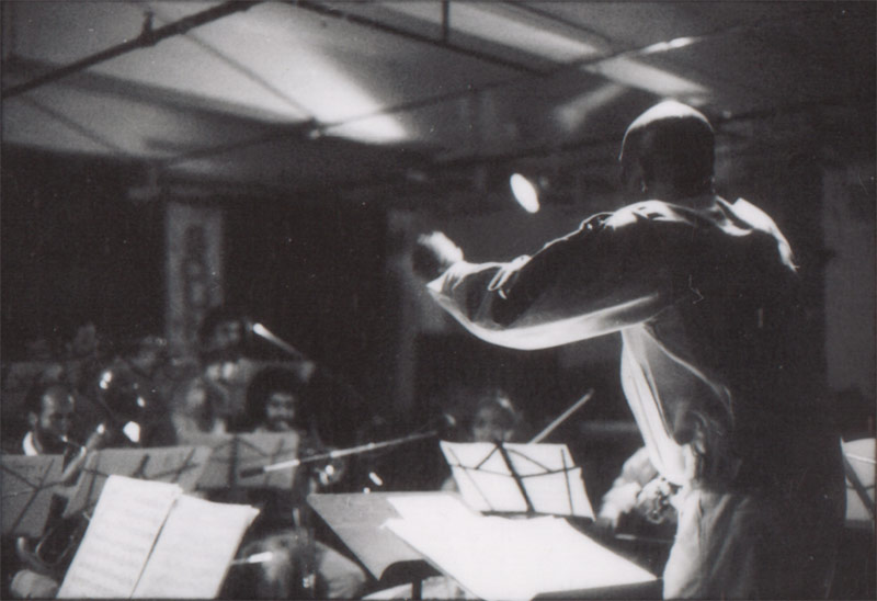 Makanda Ken McIntyre conducts the CAAMO Orchestra, Soundscape Studios, NYC, July 31, 1983